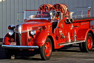 Triple comb. fire engine. ex – Sierra Vista, AZ