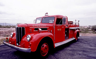 Maxim Fire Engine. 1946 Triple comb. fire engine. Ex – Cheshire, CT.