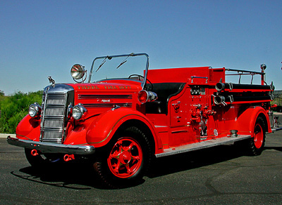 "Model 45S ""District"" fire engine from Pierre, SD"