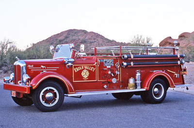 Model A Fire Engine. Ex – Eagle Valley, NY.