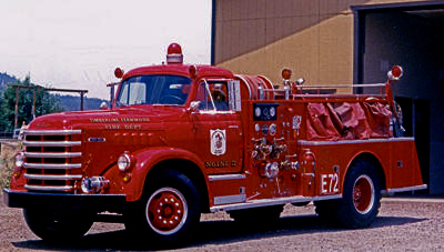 Triple Combination Fire Engine with High Pressure Fog Capability. Ex – Timberline – Fernwood AZ FD.