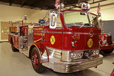 Model C Cab Forward Fire Engine. Ex – Baldwin, NY