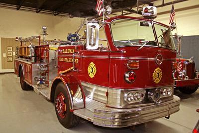 Model C Cab Forward Fire Engine. Ex – Baldwin, NY