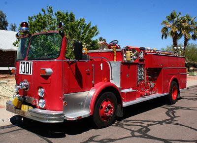 Fire Engine. Ex City of Orange, CA FD