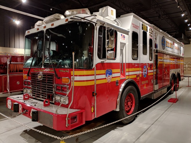 FDNY Rescue Company 4 Rig Survives 9-11