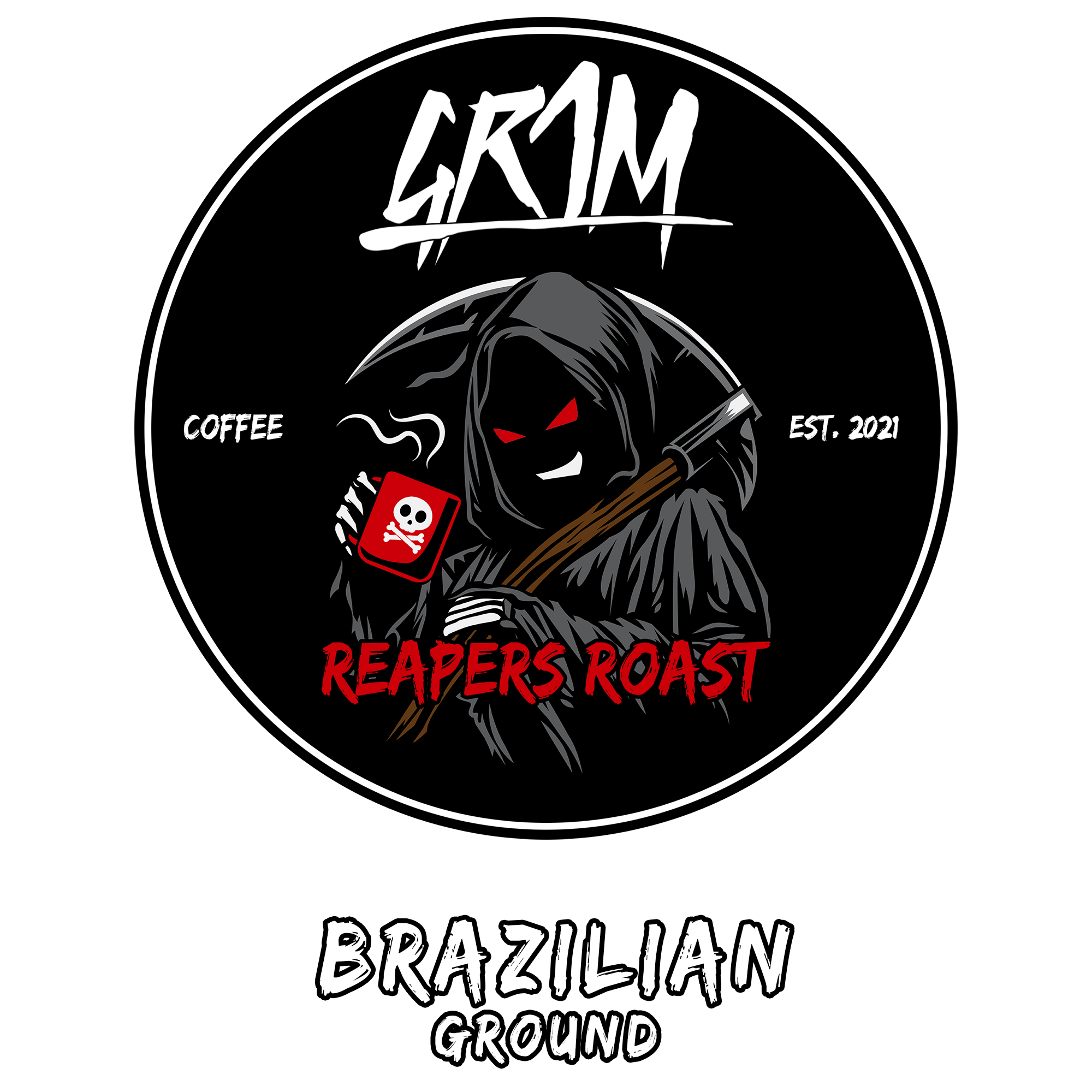 GR1M 12oz Brazilian Coffee