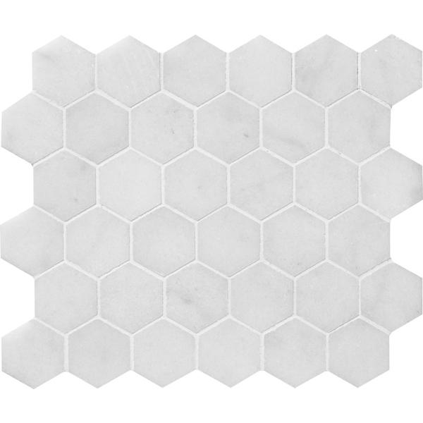 Glacier Honed Hexagon