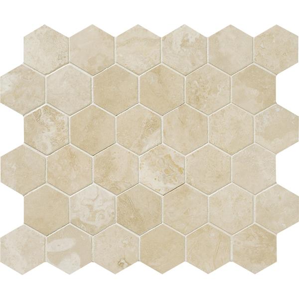 Ivory Hexagon