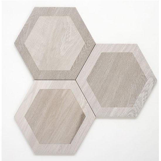 Silver Esagona Intarsio