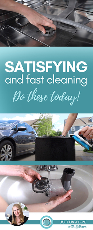 Today we are cleaning our cleaners. I feel like it's easy to overlook these spots of our home, but they make a HUGE difference.