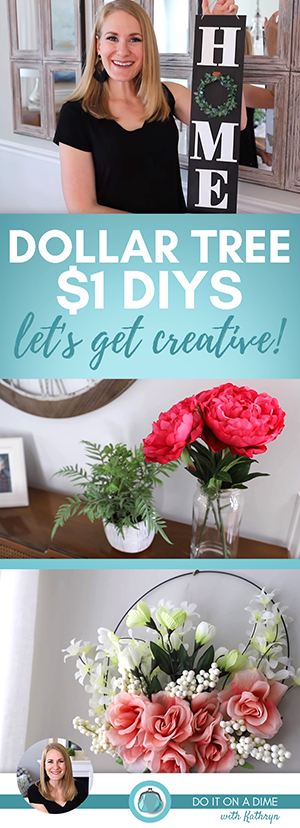 Today we are making easy Dollar Tree DIYs using what you have on hand or easy and quick crafts to get you all thinking outside the box.