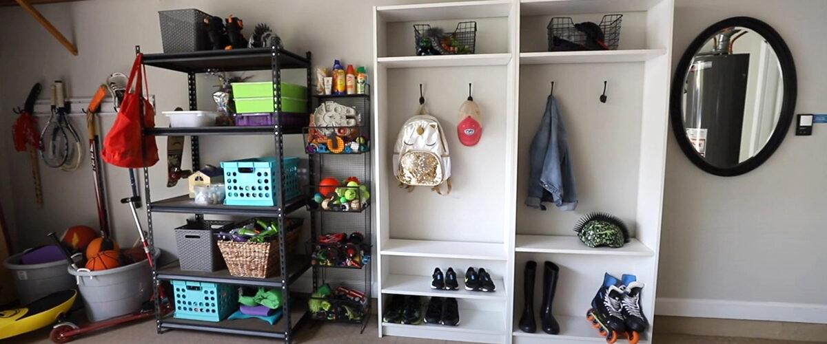DIY IKEA HACK! 💛 Instant Small Mudroom Makeover 2020