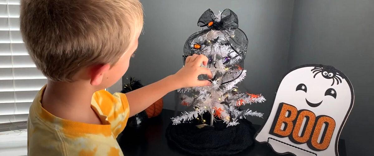 $1 Dollar Tree Halloween ideas…even for the non decorator! 👻