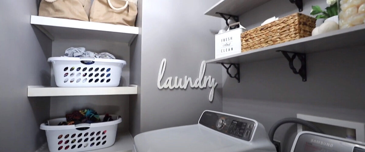 EXTREME LAUNDRY ORGANIZATION MAKEOVER