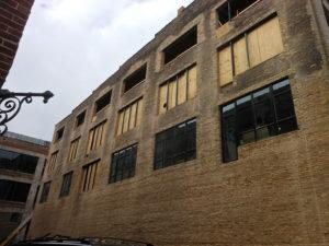 1800s building prep for balcony retrofit