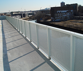 metal railing systems - aluminum and powder coating