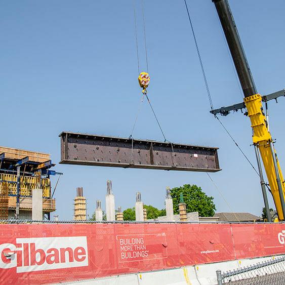 girder beam install