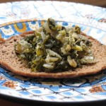RECIPE: Ethiopian Collards on Mini-Injeras
