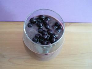 Wild Blueberry Avocado Energy Smoothie 016