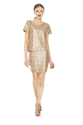 Faye top, $274 &  Cheri skirt, $249 @amymatto.com