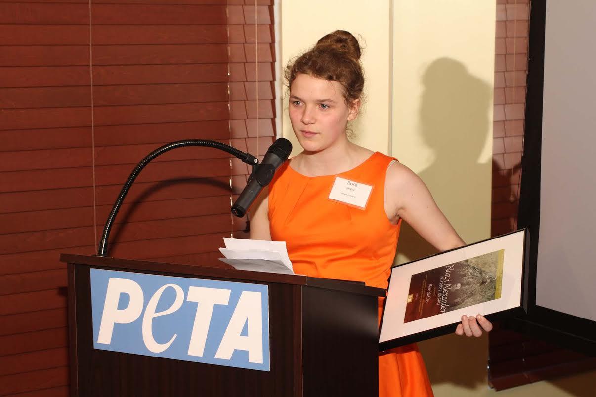 PETA event at Sublime Restaurant.