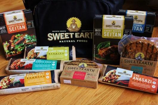 Crazy good vegan burritos, burgers, and seitan from Sweet Earth Natural Foods
