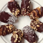 Raw Vegan Candy Chocolate Apple Wedges