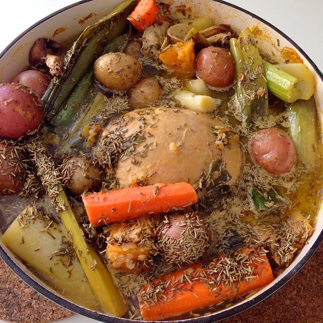Jewish Style Tofurky Pot Roast