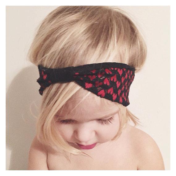 littlenuggetrepublic Valentine Headband, $6 @etsy.com