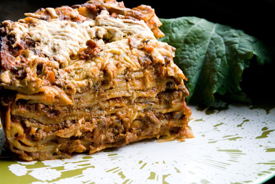 Veganized Version Of Del Posto's 100-Layer Lasagna