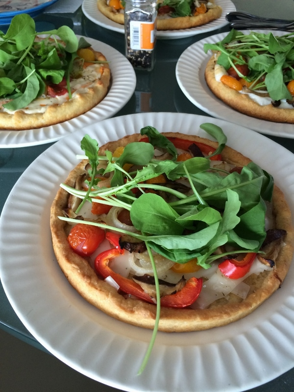 Cornmeal Crust Deep Dish Vegan Pizza