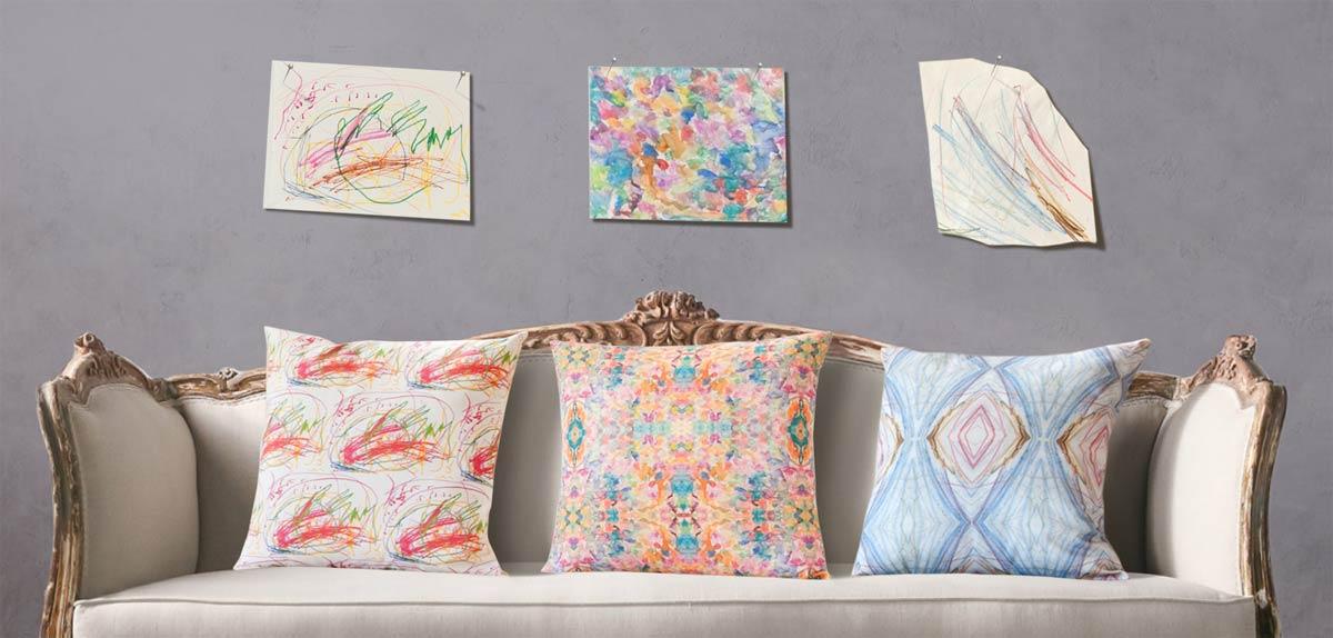 19 Queens Gate Custom Pillows, $150