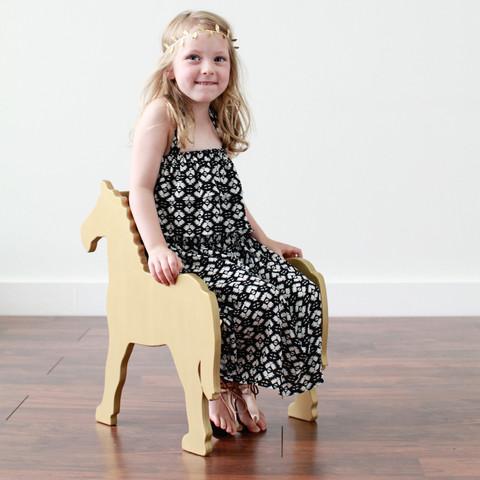Paloma's Nest Childs Pony Chair, $248