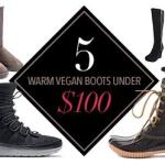 5 Warm Vegan Boots Under $100