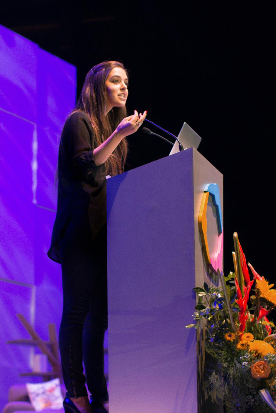 Erin Speaking