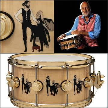 "Mick Fleetwood iconic ""Rumours"" Drum Collection to benefit endangered species"