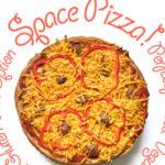 Vegan Space Pizza
