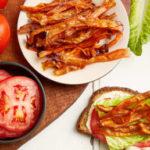 Vegan Carrot Bacon BLT