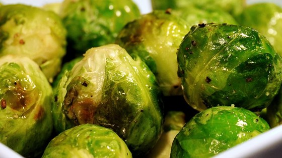 Mama Rossi's crazy fried Brussels sprouts