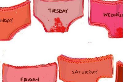 Your menstrual waste calculator, image via the period store