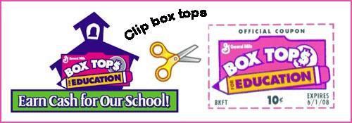 BoxTops Earn Cash For Public Schools