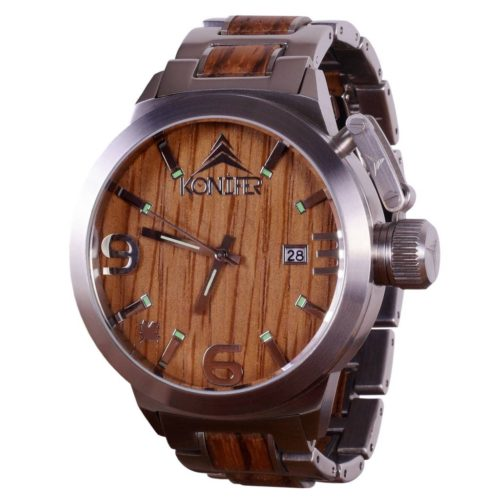 Konifer Karbon Wooden Watch, $219 @koniferwatch.com