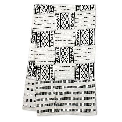 Cotton blend kente scarf, 'Akan Blessings', $110 @amazon.com
