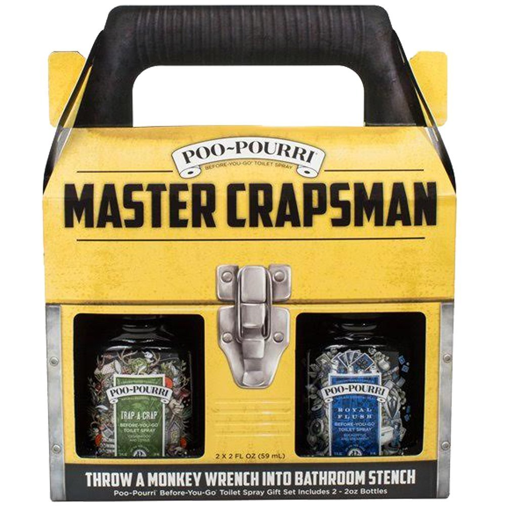 Poo-Pourri Master Crapsman Gift Set, $17.95 @amazon.com