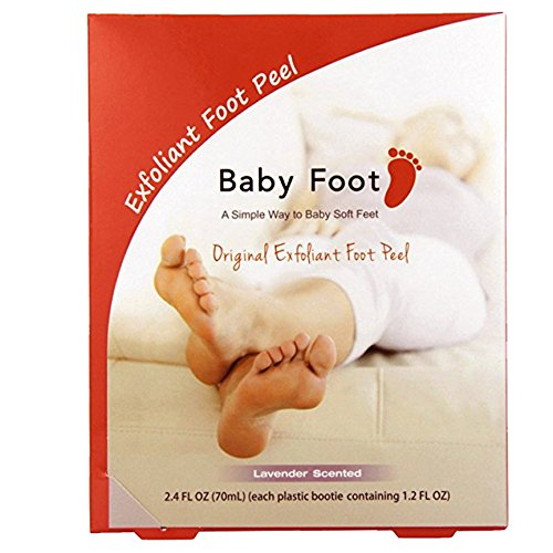 Baby Foot Exfoliant Foot Peel, Lavender Scented $34 @amazon.com