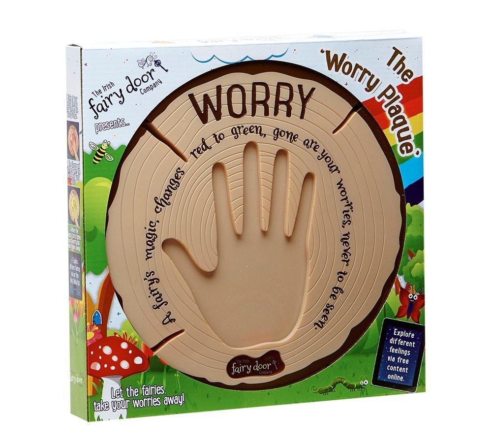 The Irish Fairy Door Company - Interactive Worry Plaque, $40-60 @amazon.com