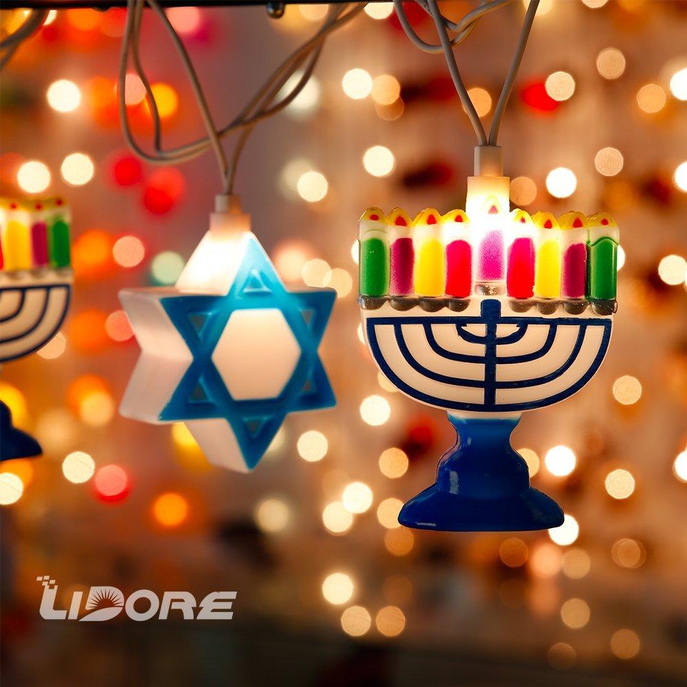 Chanukah Lights, $15 @amazon.com