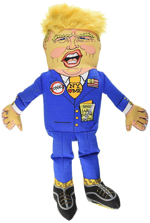 Donald Trump Dog Toy, $15 @amazon.com