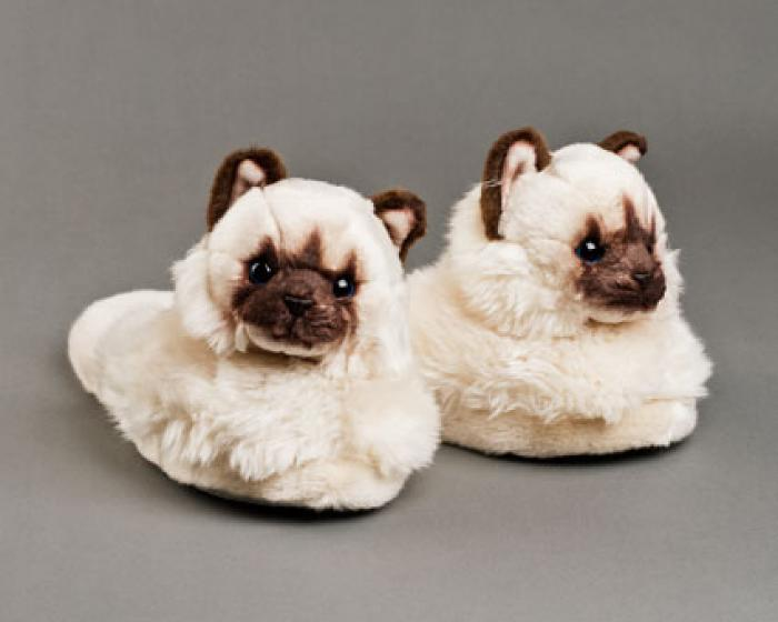 Himalayan Cat Slippers, 29 @bunnyslippers.com