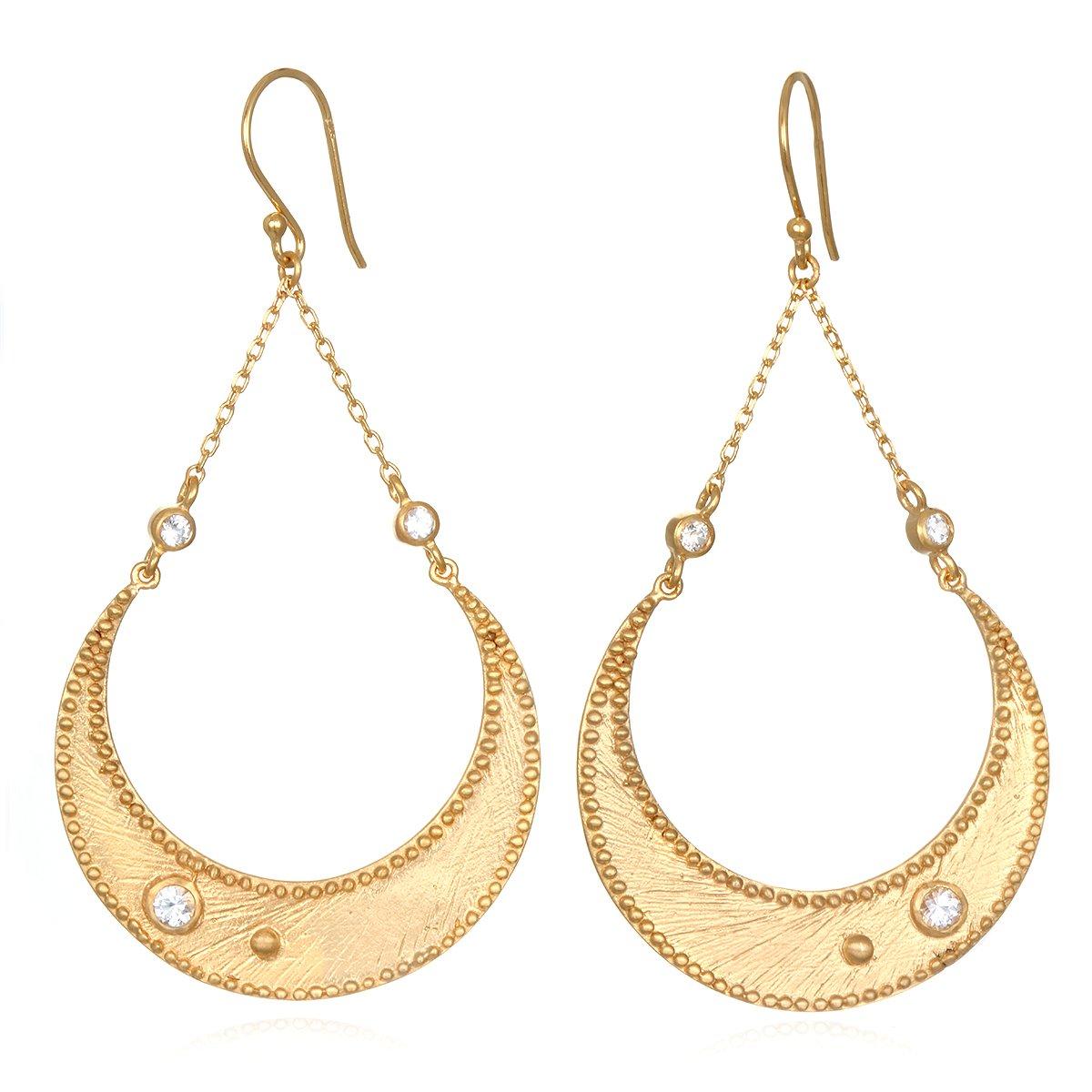 Enchanting Moonbeams Earrings, $149 @satyajewelry.com